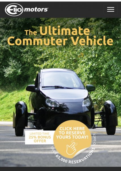 The Elio Motors Website Is So Outdated And Confusing | Elio Owners