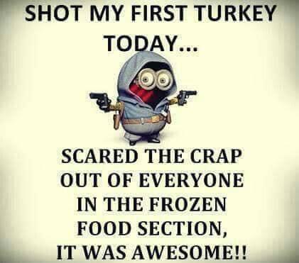 shot my first turkey today.jpg